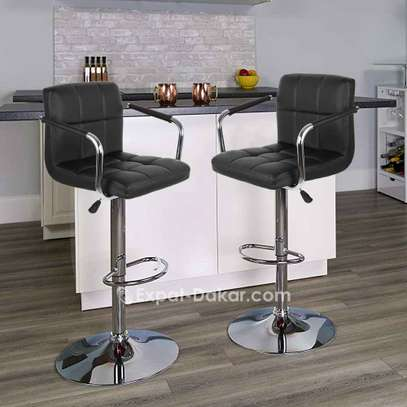 Chaise comptoir avec adosseoir image 3