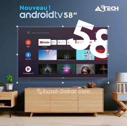 TV Astech  - Ecran 58'' - 4k image 1