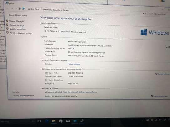 Microsoft Surface book 2 i7 image 3