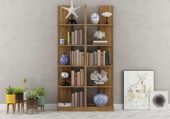 Table TV avec étagère mural image 8