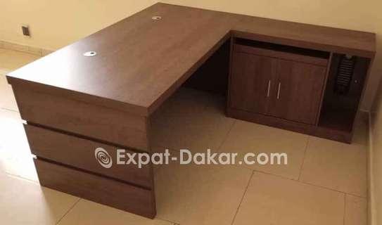 Tables de bureau avec retour/Open space image 5