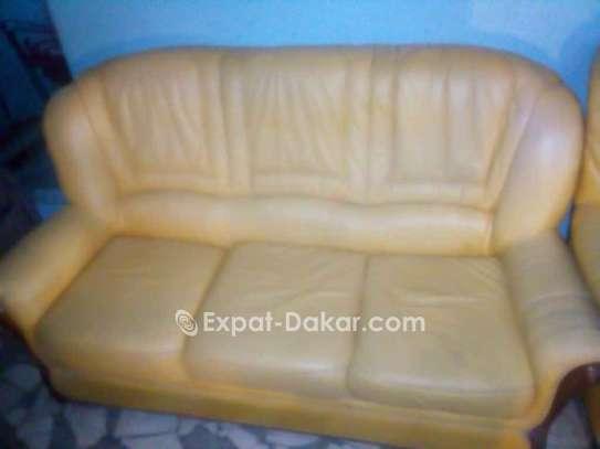 Salon en cuir 4 places image 2