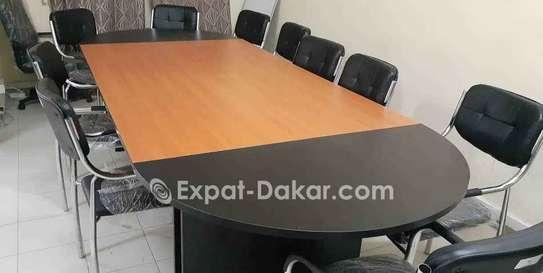 Table de réunion 6,8,10,12 et 15 places image 4