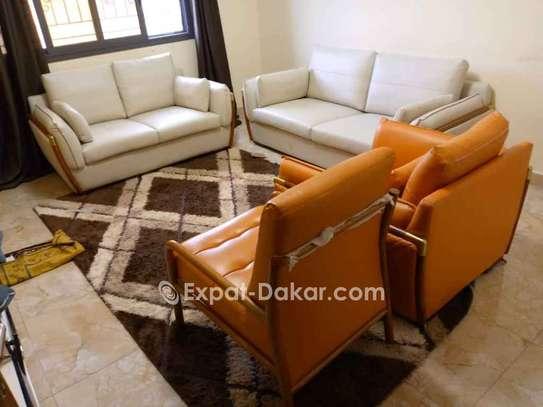 Salon en cuir 7 places image 2