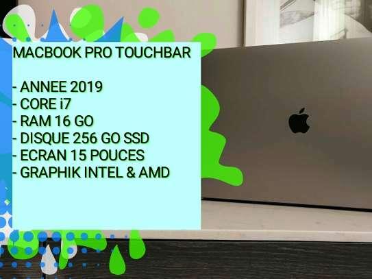 ✅   MACBOOK PRO TOUCHBAR 2019- CORE i7- RAM 16 GO- 15 POUCES image 1