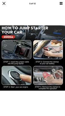 Booster de démarrage auto pour batterie à plat image 3