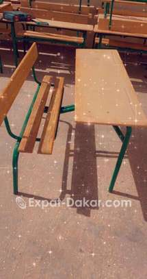 Table-banc scolaire image 2