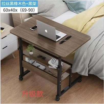 Table ordinateur en bois image 1