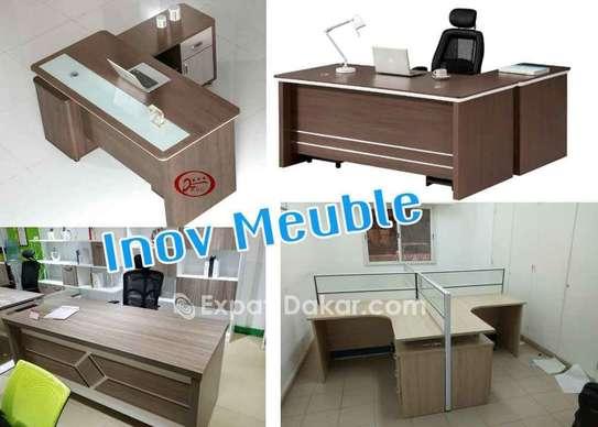 Tables de bureau avec retour/Open space image 3