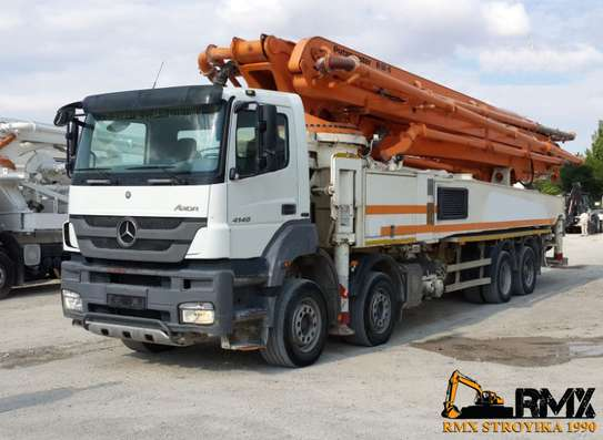Vente de camion pompe Mercedes-BenzAxcor 4140 image 1