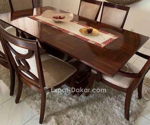 Table à manger 6 places + buffet image 2