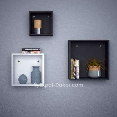 3 étagères cubes de décor image 1
