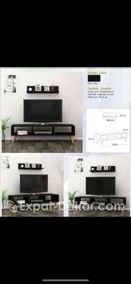 "MEUBLE TV ECRAN PLAT 32"" / 43"" / 50""/ 65"" image 2"