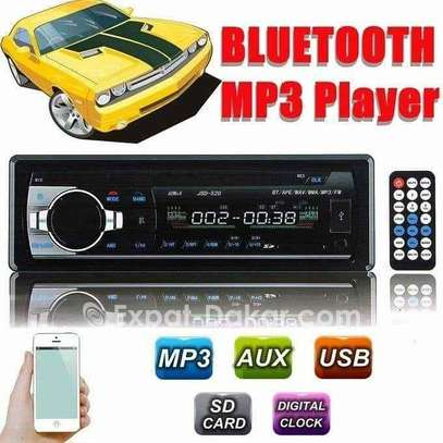 TEMPSA Autoradio Stéréo 1Din 12V - Bluetooth Lecteur USB - SD - RADIO FM - AUX image 1
