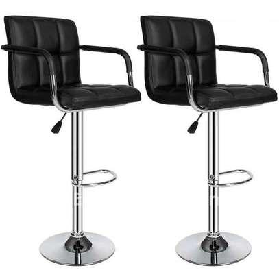 Chaise comptoir avec adosseoir image 1