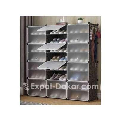 Rangement chaussures cube 48 paires image 1