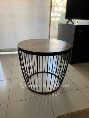 Les deux tables + pot décor image 2