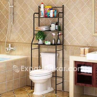 Support de rangement de toilette de salle de bain image 1