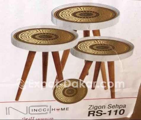 3 pièces tables image 2