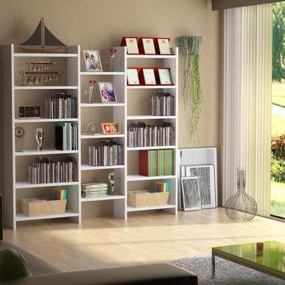 Table TV avec étagère mural image 9
