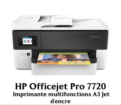 HP OfficeJet Pro 7720 Imprimante Multifonction jet d'encre couleur 4-en-1 (USB 2.0 / Ethernet / Wi-Fi image 1