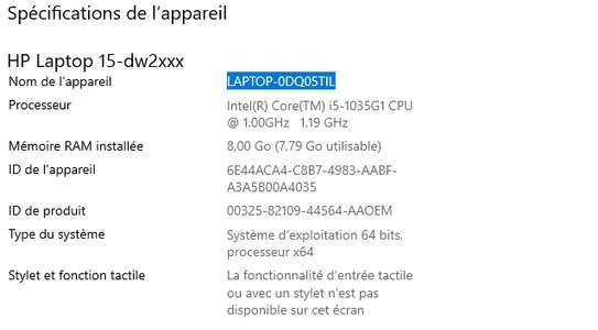 HP laptop 15-dw2xx image 4