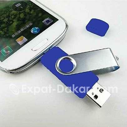 Clé USB 2.0 avec Fonction OTG 64 GB image 1