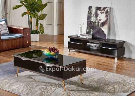 Ensemble  table tv et table basse image 2