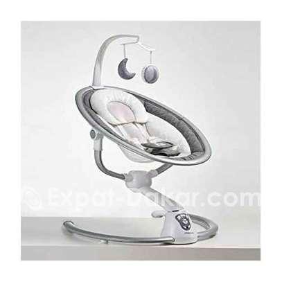 Balancelle pour Bébé Electrique Blanc image 2