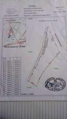 15000m2 (1hectare500) bail sur la route du croisement camberenne vers case ba image 1