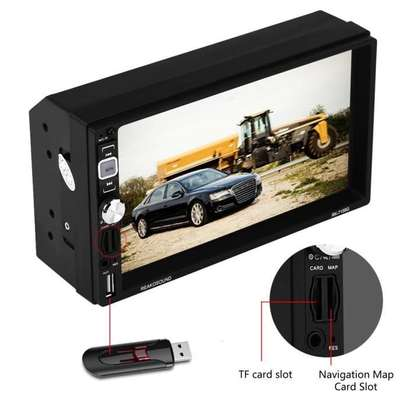 Autoradio  tactile 7 pouces HD - bluetooth usb sd image 4