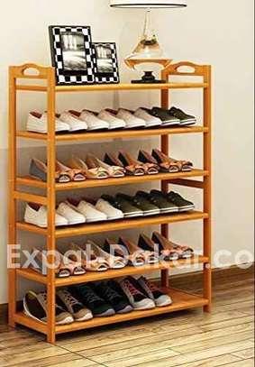 Rangement chaussure en bois image 1