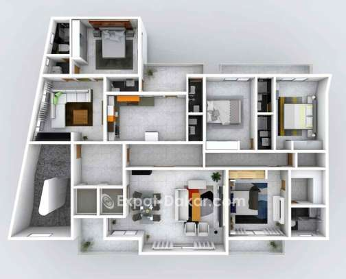 Appartement à vendre à Plateau image 3