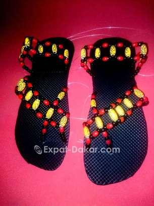 Sandales Perlés image 3