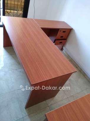 Table de bureau avec retour image 2