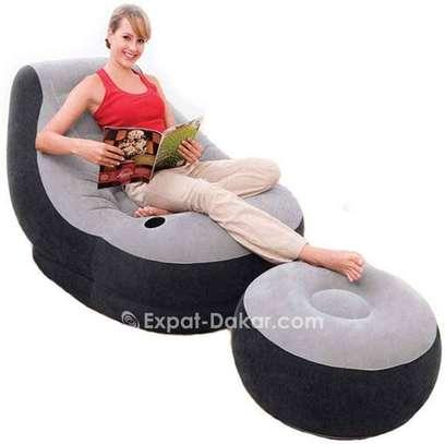 Sofa canapé gonflable INTEX image 1