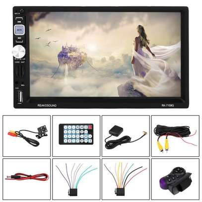 Autoradio  tactile 7 pouces HD - bluetooth usb sd image 1