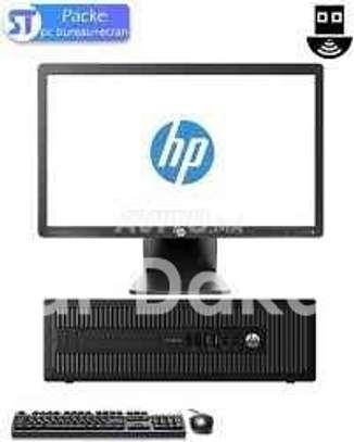 Ensemble hp prodesk core i3+ecran 22 led image 1