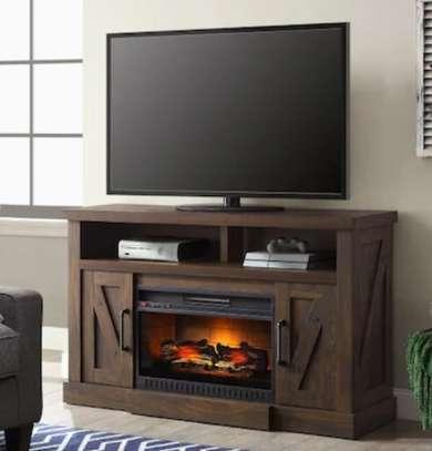 Meuble de télévision avec un chauffage intégré image 4