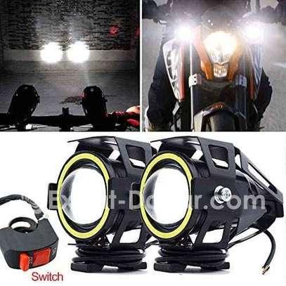 Paire Lampe Led U7 pour moto image 1
