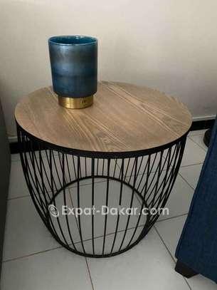 Les deux tables + pot décor image 1