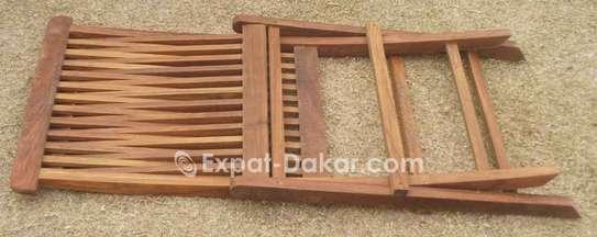 Table et chaises pour l'intérier ou extérieur image 1