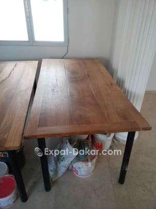Table bois Djibouti de qualité image 6