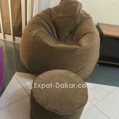 Pouf poire/amande/ lounge image 4