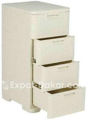 Commode Rangement avec 4 tiroirs image 2