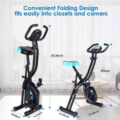 Vélo d'Appartement Pliable Vélo d'Exercice APP 10 image 2