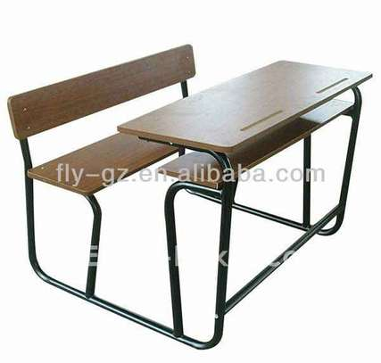Table-banc scolaire image 1