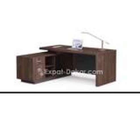 Table de bureau 1m80 avec retour image 2