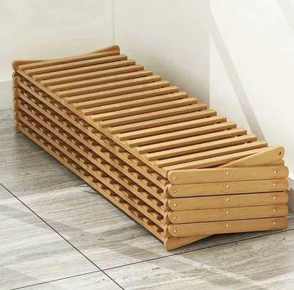 Étagère multifonctions en bambou image 4