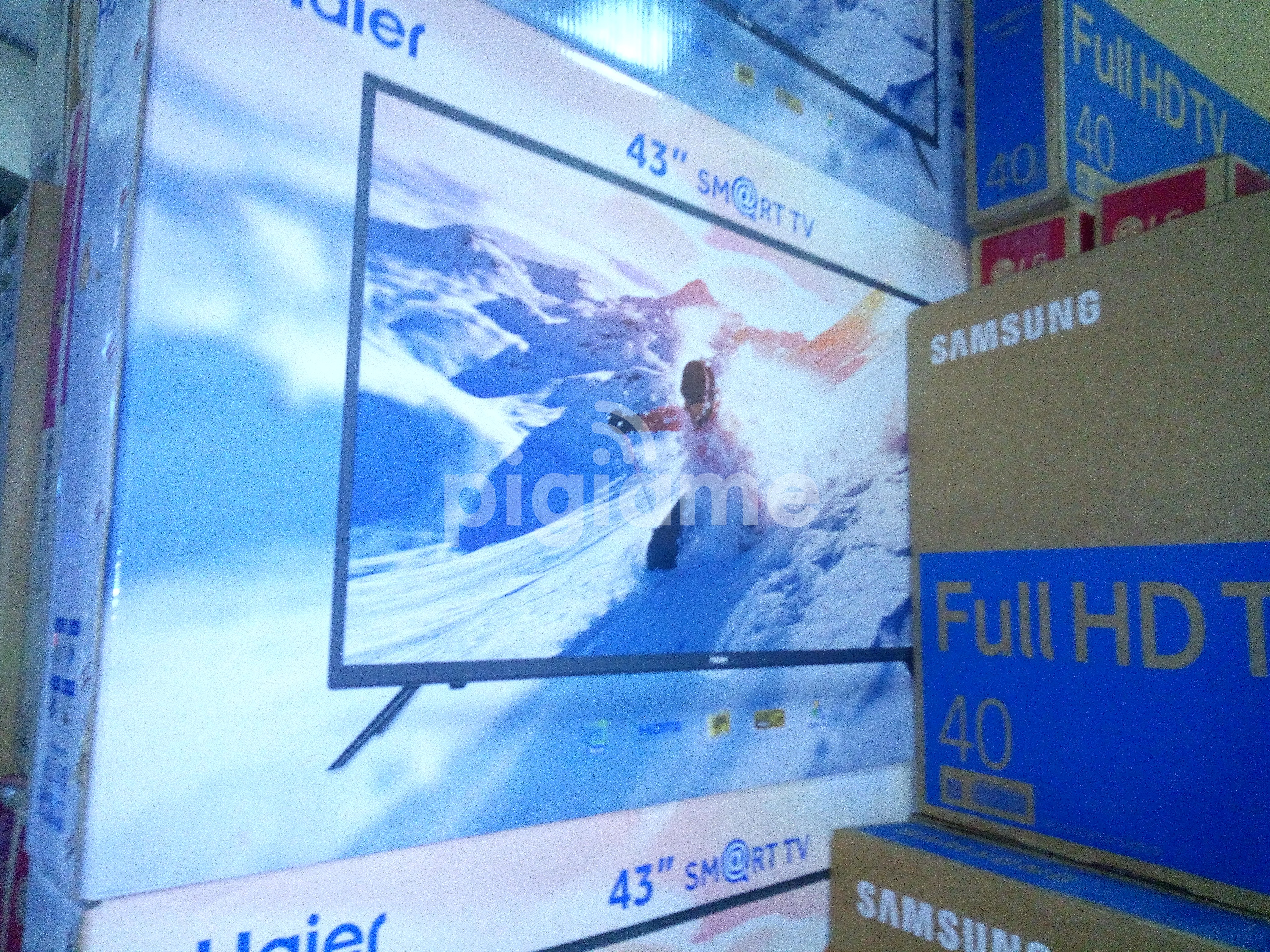 New HAIER 43inch Smart Android TV Full HD at KSh 29,500